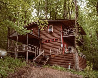Wyandot Woods - Hocking Hills Cabin Rentals